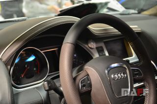 Obszycie kierownicy Audi Q7-transformers - 1
