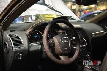 Obszycie kierownicy Audi Q7-transformers - 2