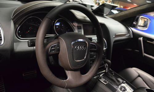 Obszycie kierownicy Audi Q7 Transformers