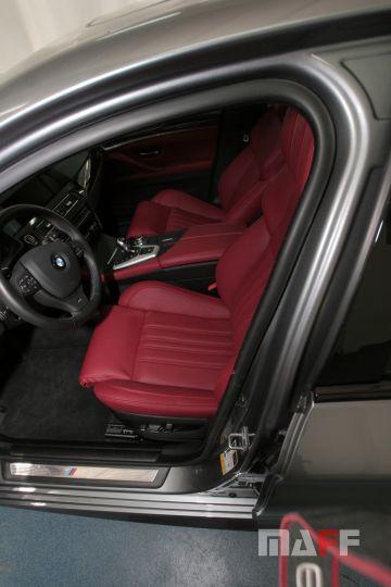Tapicerka samochodowa BMW M5-f10 - 11