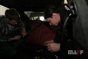 Tapicerka samochodowa BMW M5-f10 - 12
