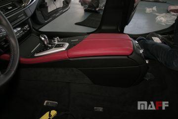 Tapicerka samochodowa BMW M5-f10 - 13