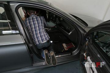 Tapicerka samochodowa BMW M5-f10 - 16