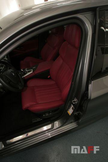 Tapicerka samochodowa BMW M5-f10 - 10