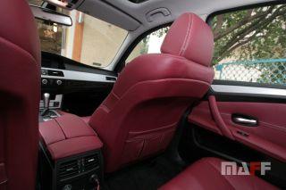 Tapicerka samochodowa BMW Seria-5-e60 - 18