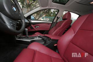 Tapicerka samochodowa BMW Seria-5-e60 - 7