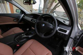 Obszycie kierownicy BMW Seria-5-e61 - 1