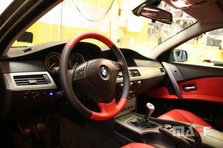 Obszycie kierownicy BMW Seria-5-e61 - 11