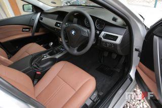 Obszycie kierownicy BMW Seria-5-e61 - 4