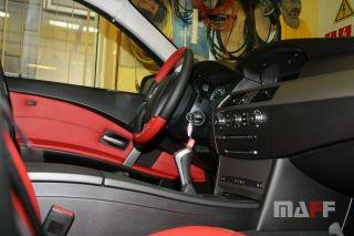 Obszycie kierownicy BMW Seria-5-e61 - 6