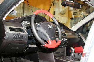 Obszycie kierownicy BMW Seria-5-e61 - 7