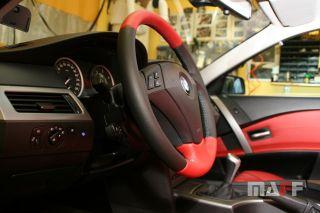 Obszycie kierownicy BMW Seria-5-e61 - 8
