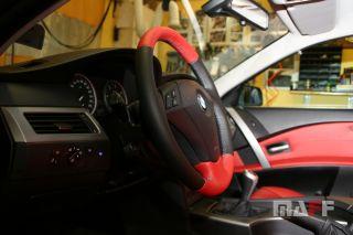 Obszycie kierownicy BMW Seria-5-e61 - 9