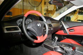 Obszycie kierownicy BMW Seria-5-e61 - 10