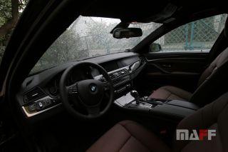 Obszycie kierownicy BMW Seria-5-f10 - 2