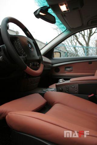 Obszycie kierownicy BMW Seria-7-e65 - 2