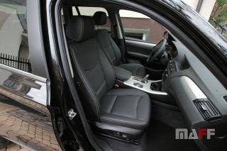 Tapicerka samochodowa BMW X3-f25 - 12