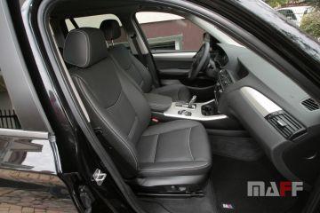 Tapicerka samochodowa BMW X3-f25 - 13
