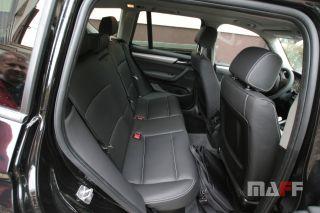 Tapicerka samochodowa BMW X3-f25 - 16