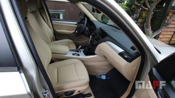 Tapicerka samochodowa BMW X3-f25 - 3