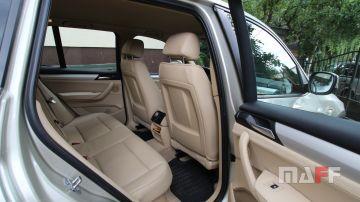 Tapicerka samochodowa BMW X3-f25 - 5
