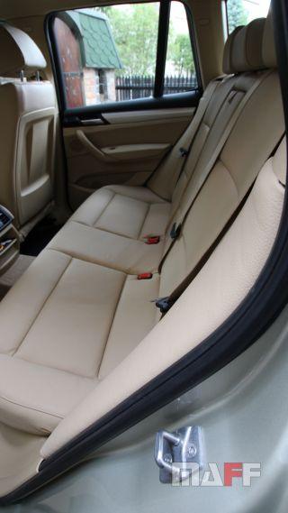 Tapicerka samochodowa BMW X3-f25 - 7