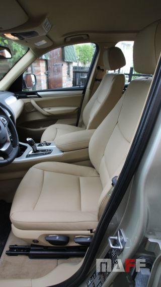 Tapicerka samochodowa BMW X3-f25 - 8