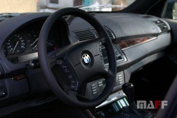 Obszycie kierownicy BMW X5-e53 - 1