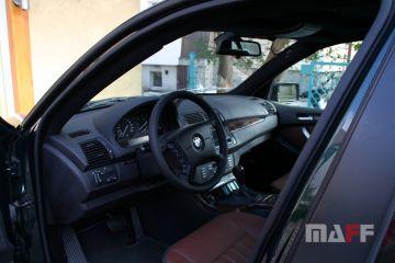 Obszycie kierownicy BMW X5-e53 - 2