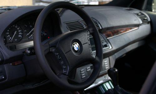 Obszycie kierownicy BMW X5 E53