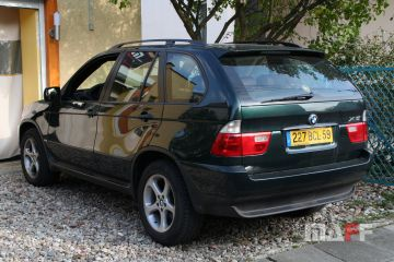 Tapicerka samochodowa BMW X5-e53 - 1