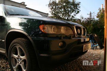 Tapicerka samochodowa BMW X5-e53 - 3