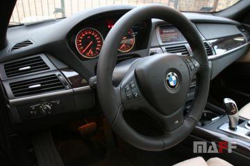 Obszycie kierownicy BMW X5-e70 - 1
