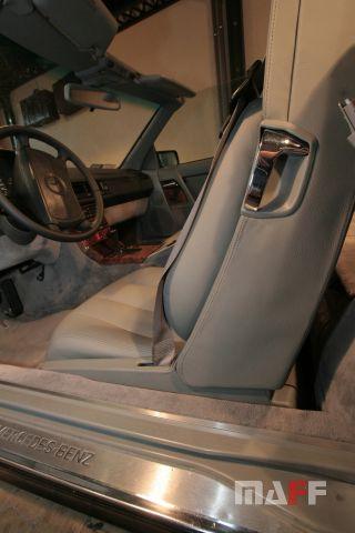 Tapicerka samochodowa Mercedes-Benz R129-cabrio - 20