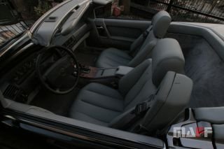 Tapicerka samochodowa Mercedes-Benz R129-cabrio - 5