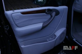 Panele drzwiowe Mercedes-Benz W169 - 8