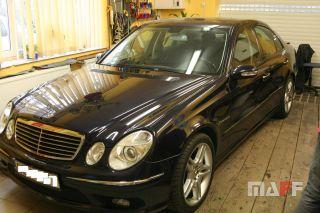 Tapicerka samochodowa Mercedes-Benz W211-e55-amg - 9