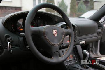Obszycie kierownicy Porsche 911-996 - 5