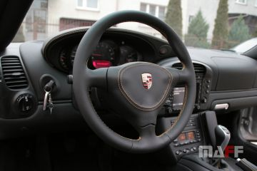 Obszycie kierownicy Porsche 911-996 - 6
