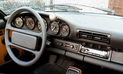 Obszycie kierownicy Porsche Carrera 2