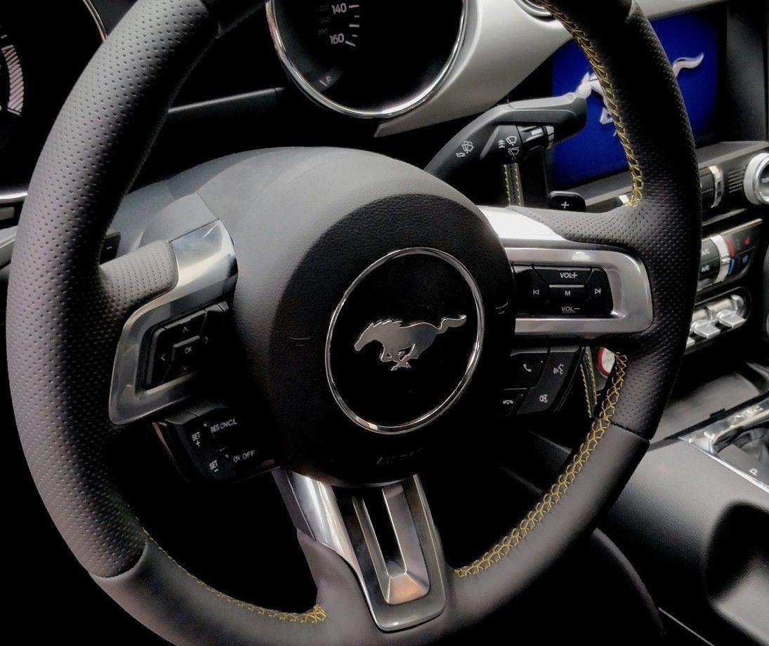 Obszycie kierownicy - Ford Mustang - Maff.pl